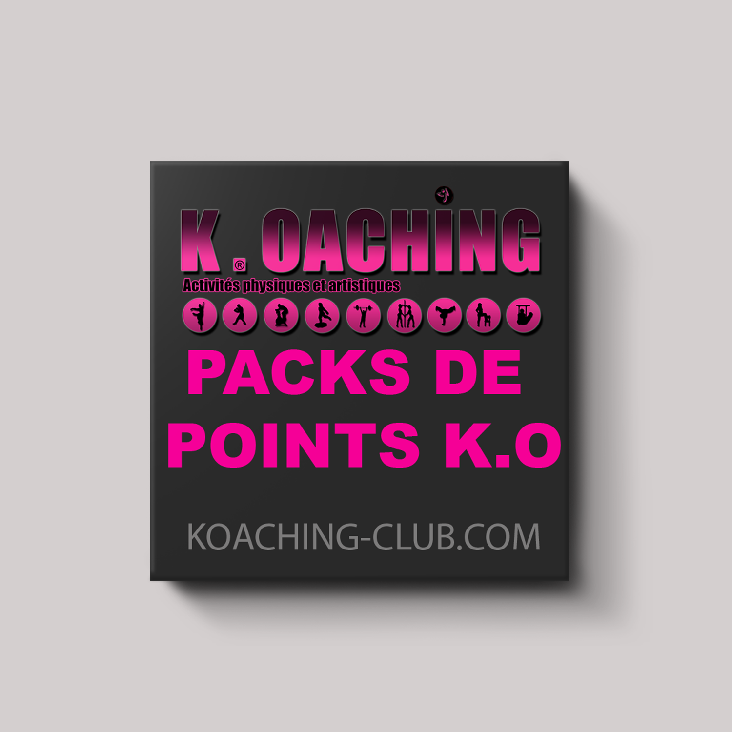 Commandez vos points K.O